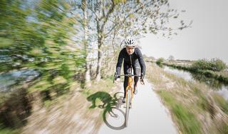 Gerard Vroomen, oprichter van wielermerk Cervélo, leidt het ontwikkelteam van Just Ride. Foto Just Ride