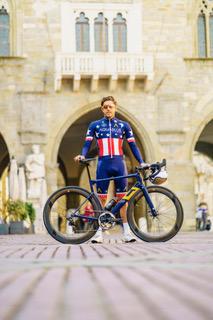 Trialtleet Marc Gash met de Just Ride fiets. Foto Just Ride