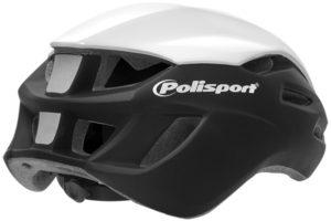 Polisport introduceert de nieuwe Aero Road fietshelm. De Aero Road is ontworpen voor een zo laag mogelijke luchtweerstand.