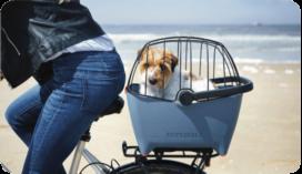 Basil Buddy hondenfietsmand