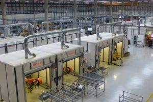 Grootschalige productie aluminium frames in Portugal