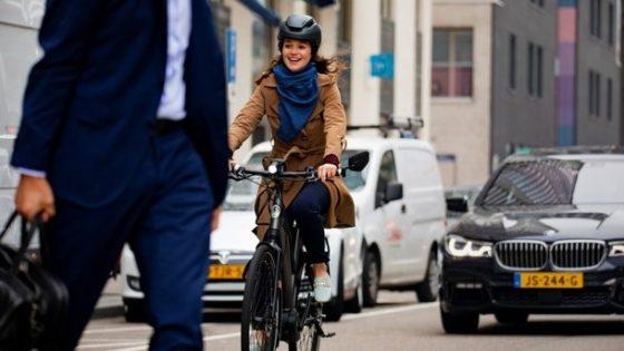 Gazelle start met de FNJWD een competitie: het bedrijf dat eind juni het hoogste gemiddelde aantal fietskilometers per medewerker heeft behaald, krijgt een fiets van Gazelle cadeau. Foto Gazelle