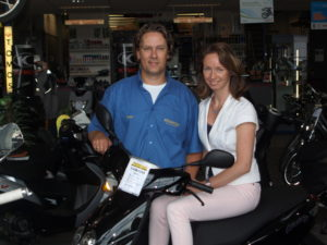 Peter Wichink Kruit, WK Scooter Centre