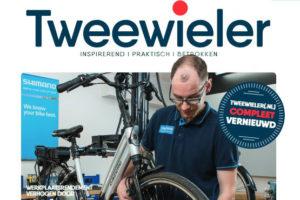 Tweewieler magazine en website vernieuwd