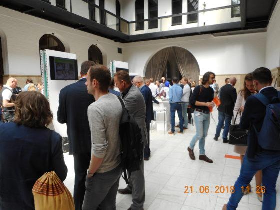 Het Fietscongres vond plaats op 21 juni 2018 in het Hulstkampgebouw in Rotterdam. Onder de ongeveer 200 aanwezigen waren veel beleidsmedewerkers van gemeenten, provincies en  de rijksoverheid. Foto redactie Tweewieler