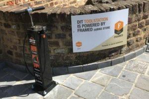 SKS Servicestation extra tool voor fietswinkels en -verenigingen