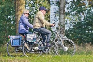 Veiliger fietsen dankzij zelftest oudere fietser
