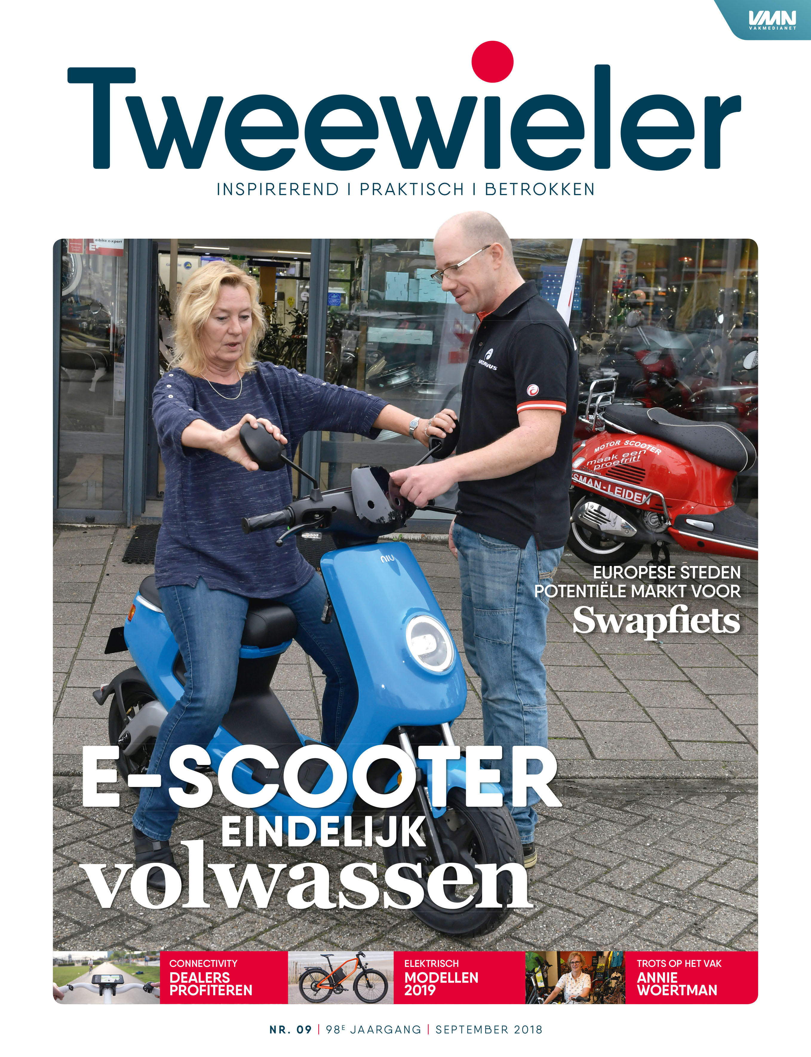 Tweewieler september 2018