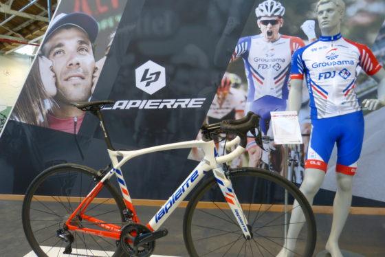 Lapierre biedt een ruim assortiment in race en MTB met prijzen vanaf € 449,- in MTB en € 749,- in racefietsen. Foto Tweewieler