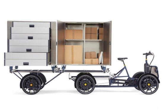Gazelle D10 e-cargo. Foto Gazelle