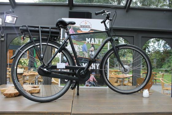 Bikkel iBee Magma met 375 Wh accu, N3 en verkoopprijs van € 1.199,-. Foto Tweewieler