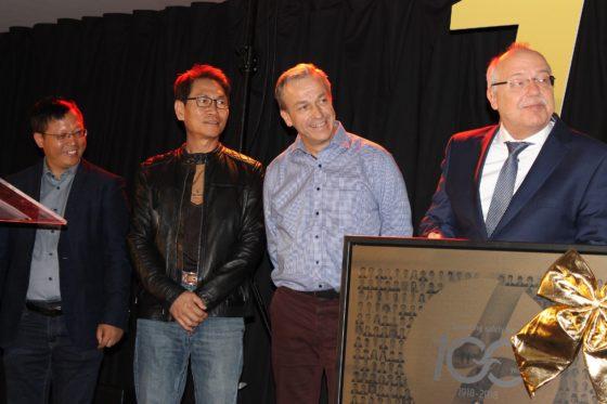 Veel waardering van de medewerkers in Frankrijk, China en Taiwan die aangeven trots te zijn voor Spanninga te werken. Foto Tweewieler