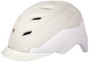 Polisport introduceert met de E'City een wat het zelf noemt 'betaalbare, goedgekeurde speed pedelec helm'. Hij is verkrijgbaar in de maten M (54-59cm) en L (58-61cm) en heeft een advies verkoopprijs van € 69,95.