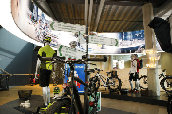Rose heeft ook een enorm aanbod city- en trekkingbikes en natuurlijk elektrische fietsen… van het eigen merk Rose.