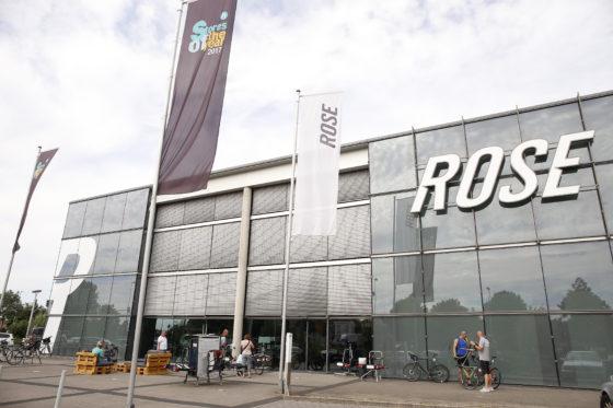 De Biketown is één van de panden van Rose in Bocholt. Elders in de stad heeft het bedrijf nog kantoren en een logistiek centrum waarin tevens magazijn en montageafdeling zijn gevestigd.