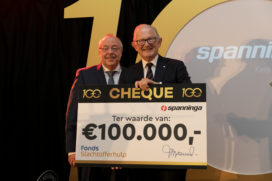 Spanninga schenkt 100.000 euro aan Fonds Slachtofferhulp