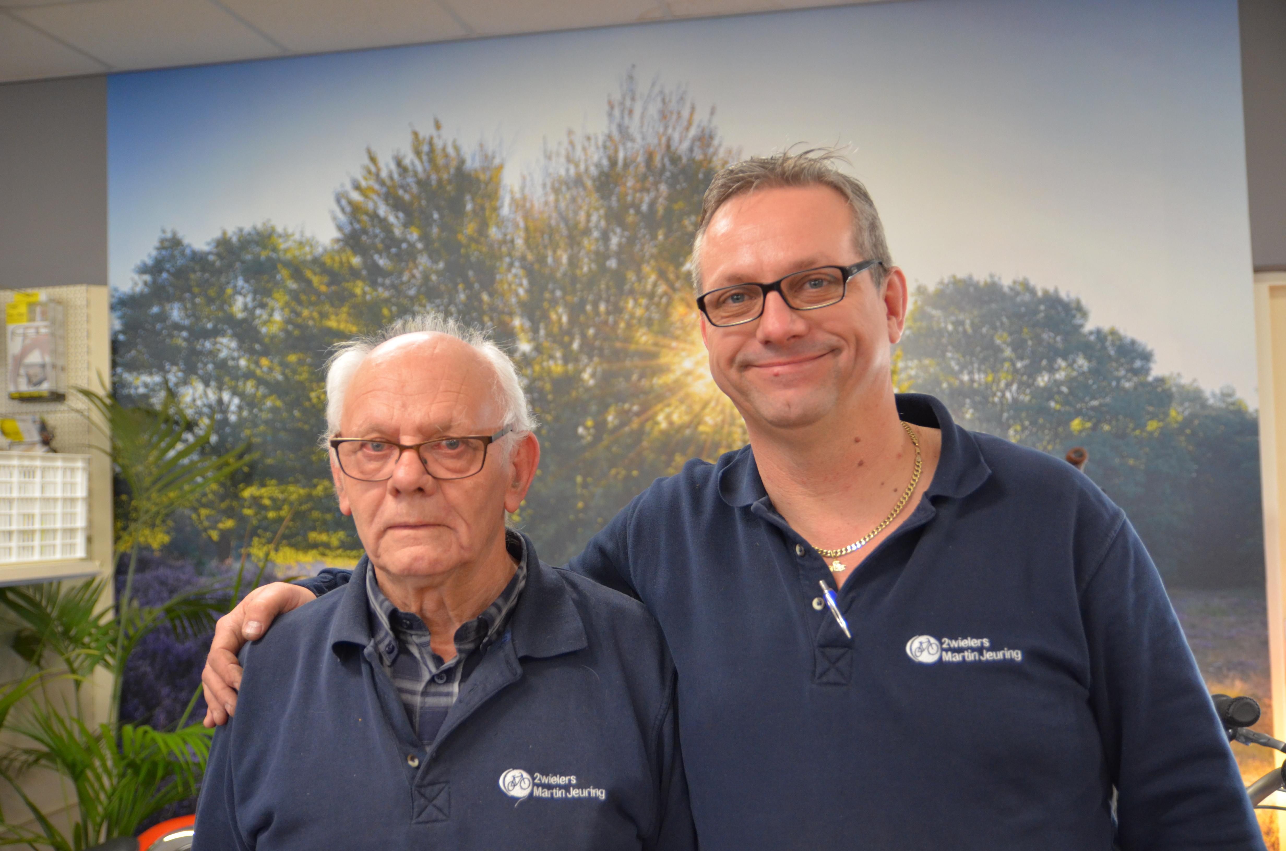 Martin Jeuring werkt alleen en wordt af en toe geholpen door zijn vader.