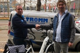 Ebike Das Original levert 1.000e e-bike bij Tromm Amsterdam