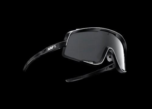 922bb43071c79d Het frame van de bril loopt boven de lens langs tot halverwege de zijkant