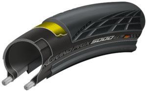 Continental presenteert haar nieuwste model raceband, de Grand Prix 5000. De band vervangt de Grand Prix 4000S II.