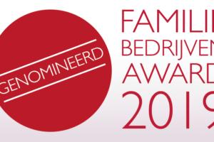 Kruitbosch genomineerd voor Familiebedrijven Award 2019