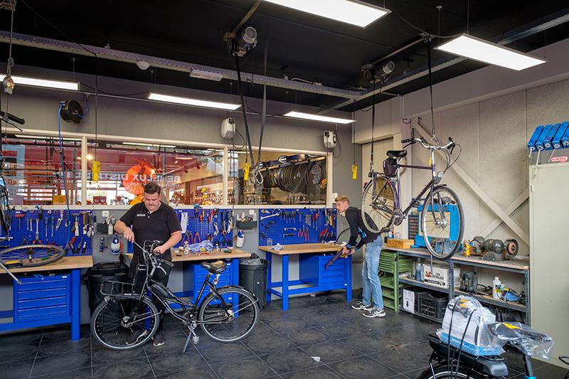 Werkplaats Bike Totaal Wijtman