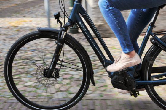 De nieuwe Dutch ID City Evo is leverbaar als N7 met het Shimano Steps E5000 systeem en als +A8 met E6100 motor.