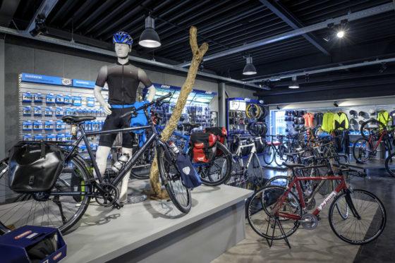 Het assortiment Jan Janssen fietsen.