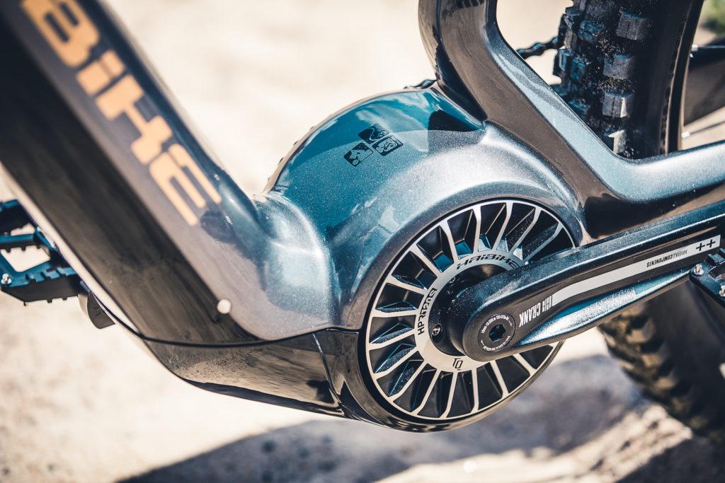 De Flyon-modellen van Haibike hebben een krachtige motor van TQ die 120 Nm koppel levert.