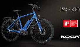 Koga Pace B10 wint iF Design Award