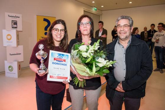 Regiowinnaar Vlaanderen: Fietsen Gaethofs uit Herk-de-Stad. Foto Herbert Wiggerman