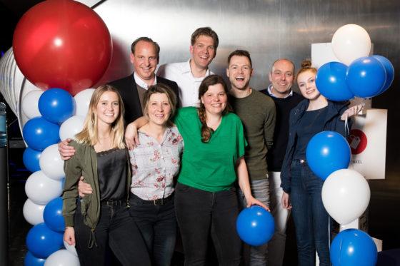 Teams verkiezing Tweewielerwinkel van het Jaar 2019 op de foto gezet