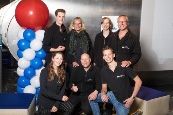 Age van 't Hoff en zijn team.