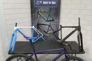 WrapMyBike kan racefiets wrappen en stylen