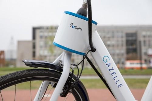 Gazelle en TU Delft ontwikkelen stuurondersteuning die fiets stabiel houdt