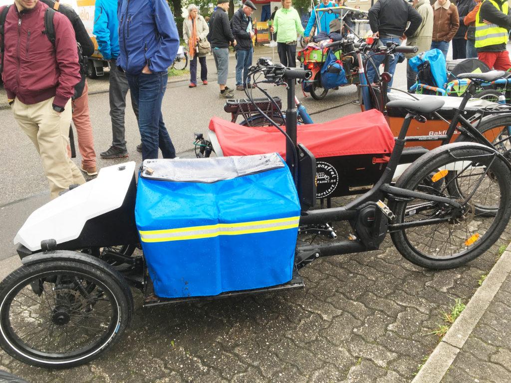 Long John-cargobike-met-2-voorwielen