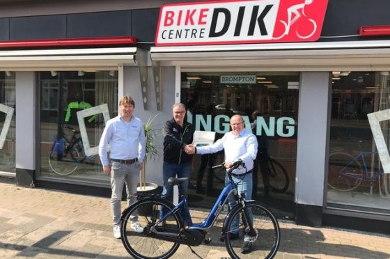 Bike Centre Dik is dealer nummer 100 van Ebike Das Original