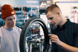 Video ROC Amsterdam is reclame voor het vak fietstechnicus