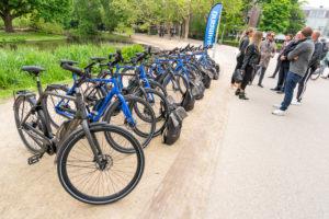 BN-ers testen als eersten nieuwe Cortina E-Mozzo e-bike