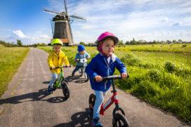 Strider loopfietsjes vanaf juni in ons land te koop