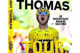 Boek Geraint Thomas over lange weg naar de gele trui in Tour de France 2018
