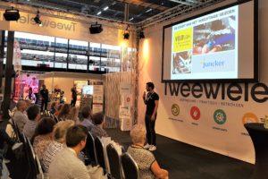 Kennis bijspijkeren: Tweewieler Kennistheater op Vélovak