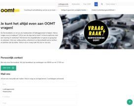 De OOMT Servicedesk: je kunt het altijd even aan OOMT vragen!
