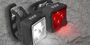 Fietslicht-Axa-fietsbeveiliging