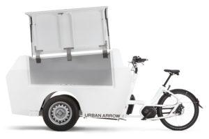 Urban Arrow's alternatief voor de bestelbus te zien op Eurobike