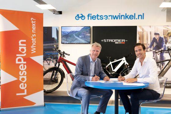 LeasePlan zet met Fietsenwinkel.nl vol in op e-bike leasemarkt