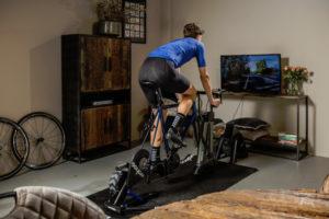 Zet in op indoor fietsen tijdens de winter