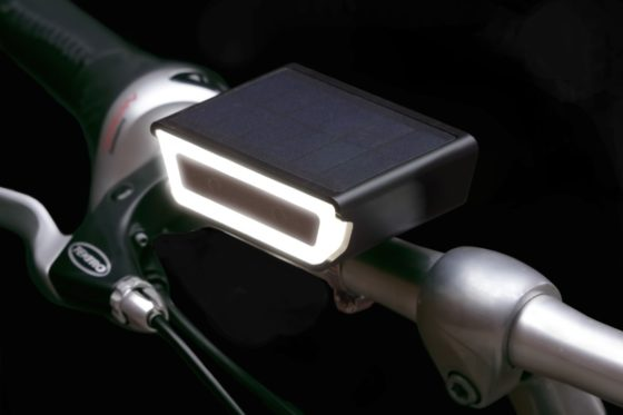 Rydon komt met nieuwe solar-fietslamp