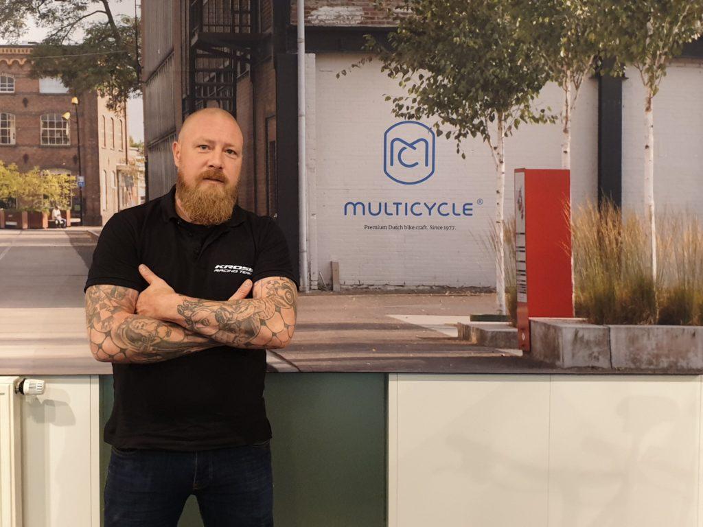 Directeur Eelke van Bilzem van Multicycle
