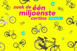 Kruitbosch vierde 1 miljoen Cortina's met speciale game